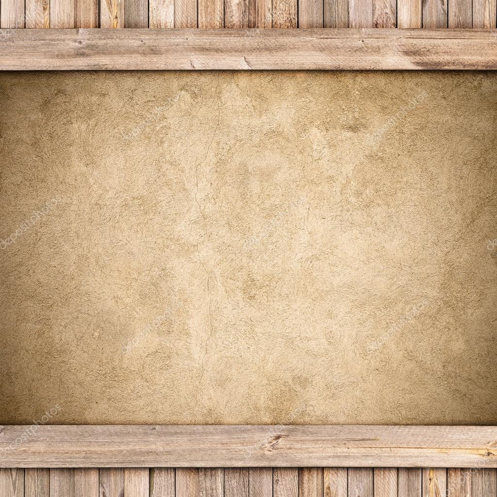 Wood and concrete background