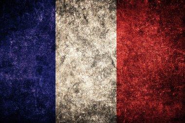 France flag on the wall