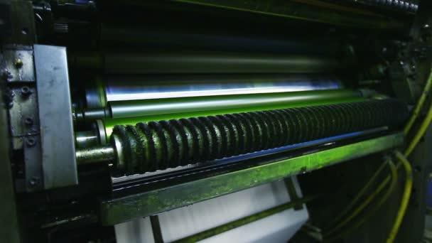 tiskový stroj detail detail