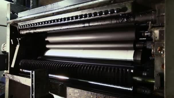 Tisk detailu zařízení na výrobní lince