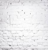 texturou cihel nabílené zdi