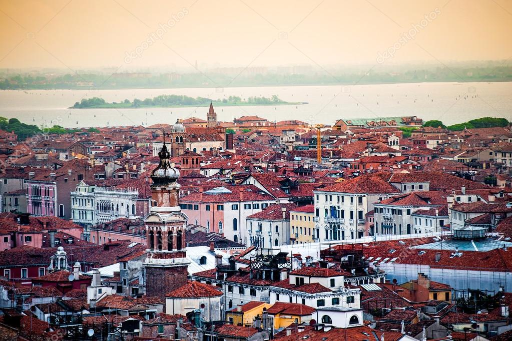Houses roof in Venice