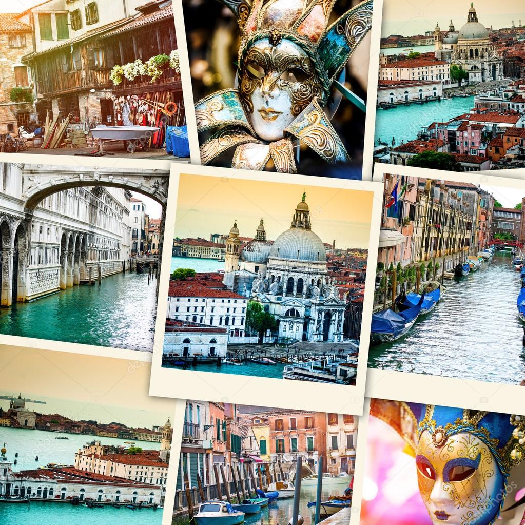 collage from Venice