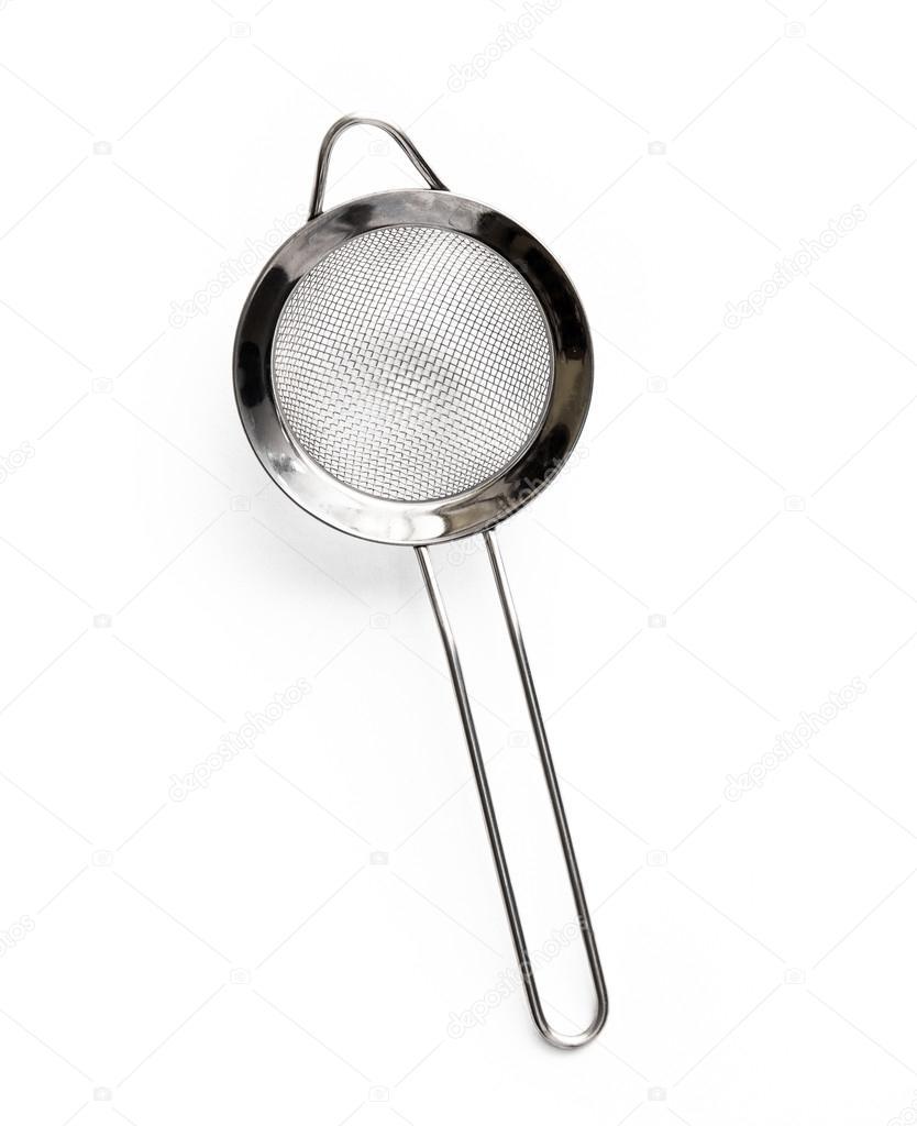 colador metal cocina — Foto de stock © GekaSkr  74731175 36f68000383d