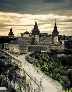 view on Kamenetz-Podolsky fortress