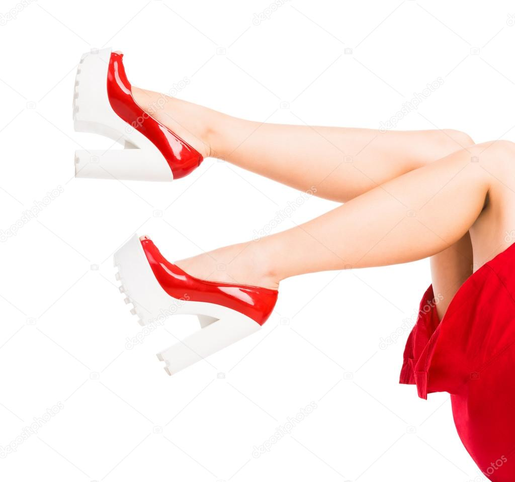 Beine und Füße hoch — Stockfoto © GekaSkr #92765640