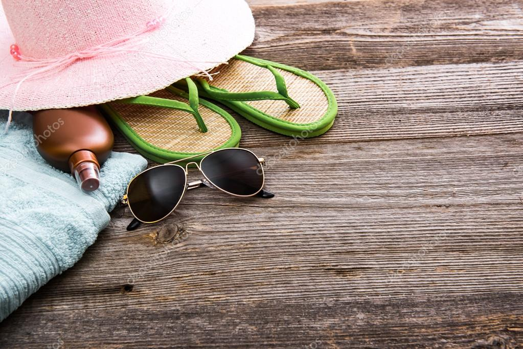 Beach stuff and accessories