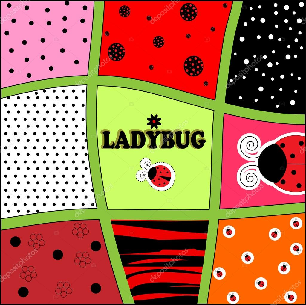 Vetor de carto de convite de fundo joaninha vetores de stock ladybug background invitation card vector illustration art vetor de yaroslavna stopboris Image collections