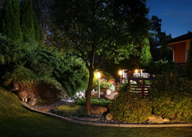 Garden lights illumination