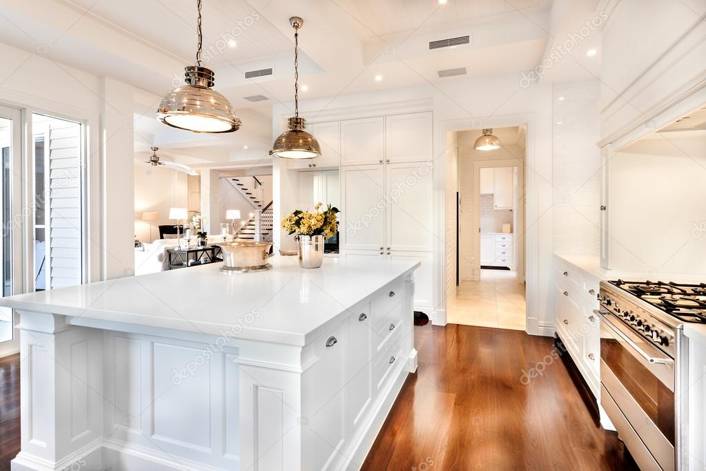 Kitchen Area Of A Modern Multi Million Dollar Home Stock Photo Image By C Jrstock1 103857814