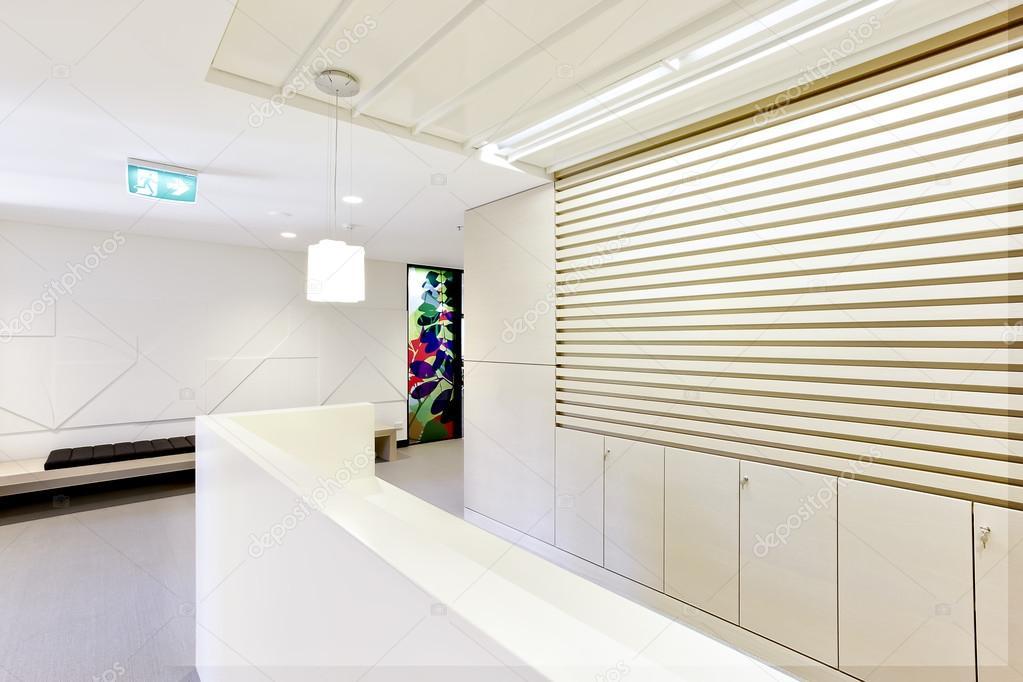 Salle de réception dun bureau moderne ou dappartement