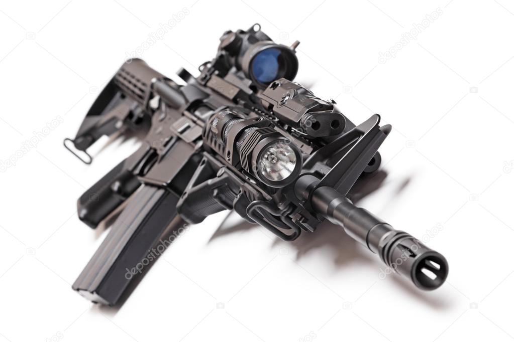 Ar 15 Carbine Tactique Photographie Ultraone C 93507142