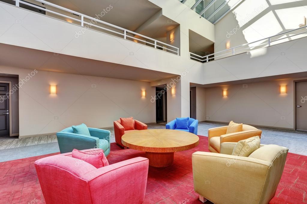 Lounge gemeinschaftsraum mehrfamilienhauses interior design
