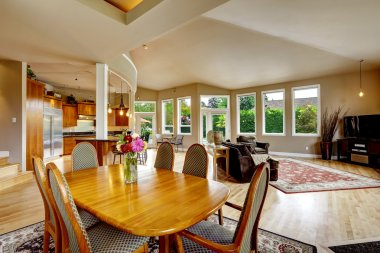 Luxury house interior. Real estate in WA