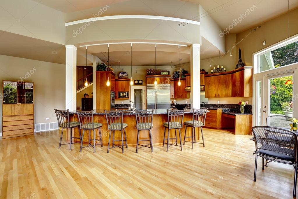 Kitchen Interior In Luxury House Real Estate In Wa