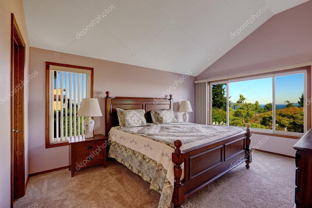 Camera Da Letto Color Rosa : Master camera da letto interni in colore rosa chiaro con windown