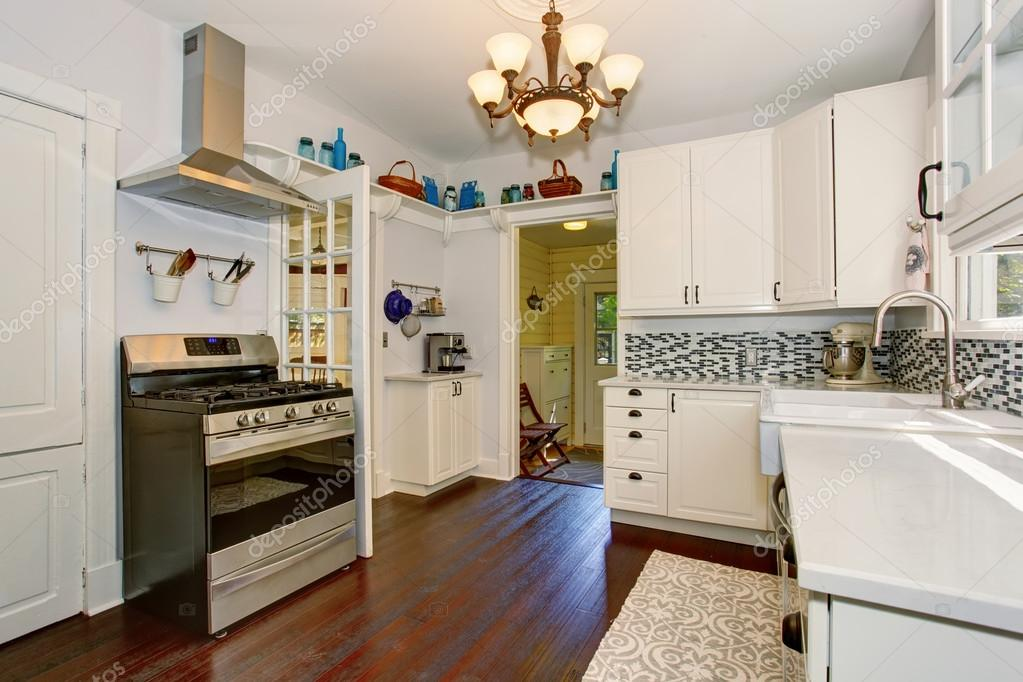 State Of The Art Kitchen With Stainless Steel Appliances. U2014 Stock Photo