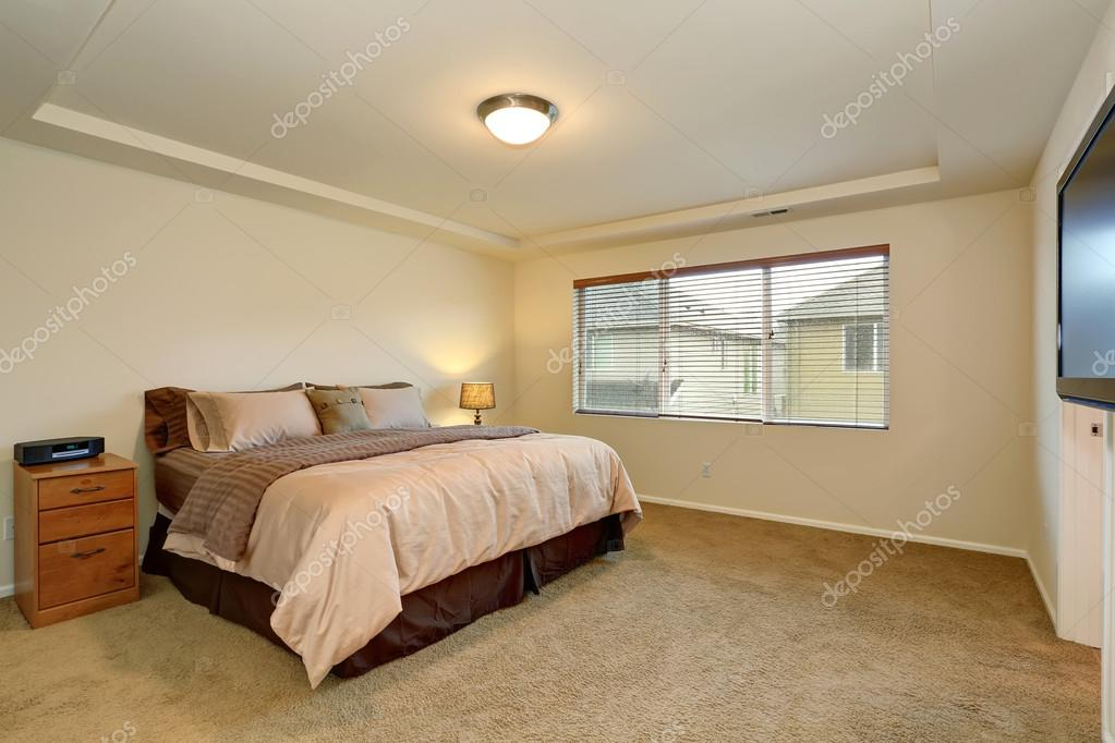. Nice master bedroom with simple decor    Stock Photo   iriana88w