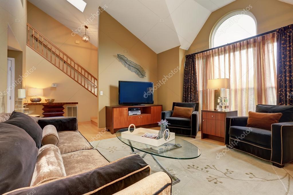 ideal sala de estar familiar con piso de madera fotos de On sala de estar familiar