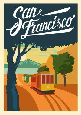 poster San Francisco California