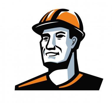 vector worker man