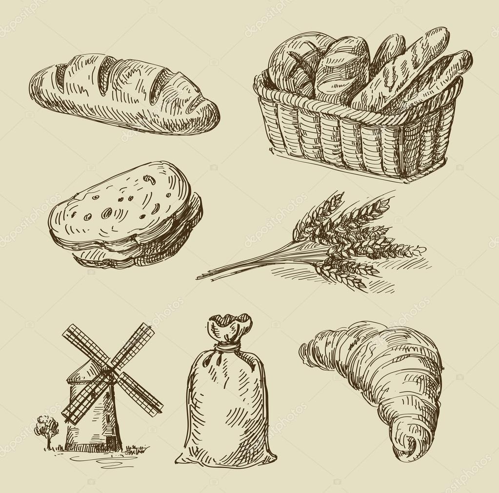 селёдка картинка векторная графика хлеб и производство они