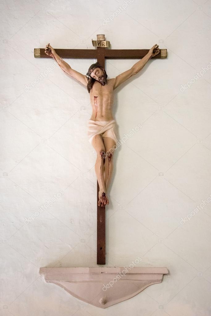 Sangrado De Jesucristo En La Cruz Fotos De Stock Yelo34 101761850