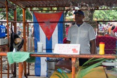 Street sellers of food