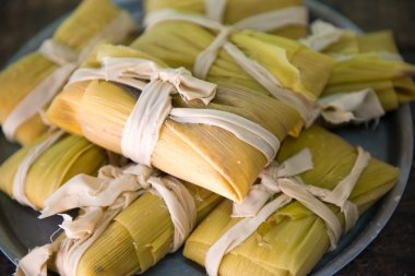 Traditional Cuban tamales