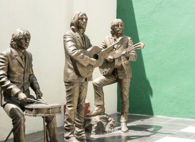 Statue honoring The Beatles
