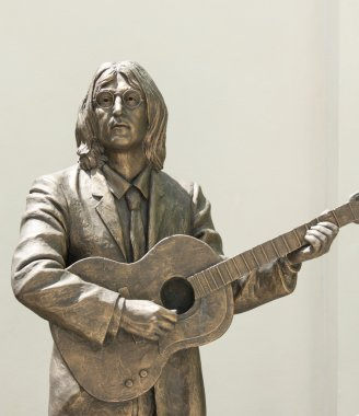 Statue honoring The Beatles