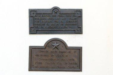Memorial Plaques in Santa Clara, Cuba