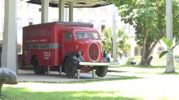 Truck near Cuban Revolution Museum
