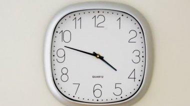 f89bead3a00 Parede Relógio Tiro Movimento — Vídeo de Stock © FyreStock  198759520