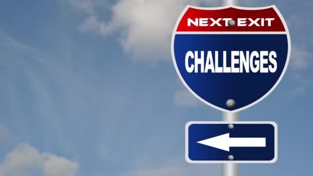 kihívások útjelzési áramló felhők