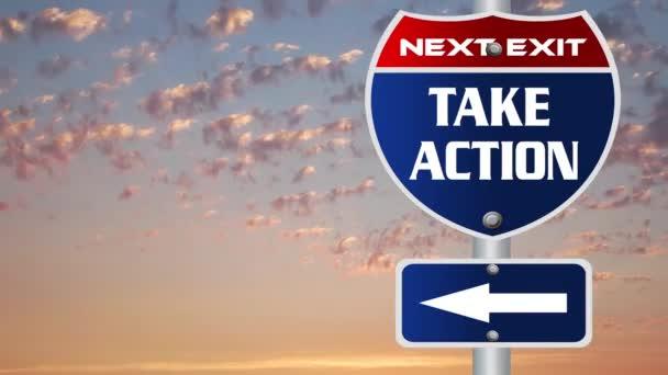 Hogy akció út jel