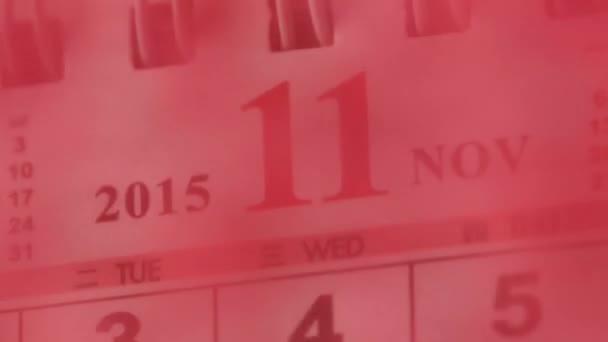 Mozgás a kínai naptár November 2015