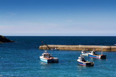 View of the harbour at Port Issac
