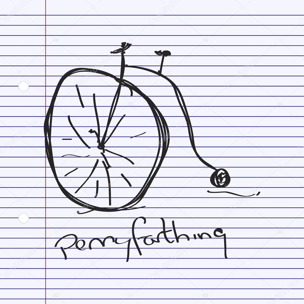 Simple bicycle illustration - photo#54