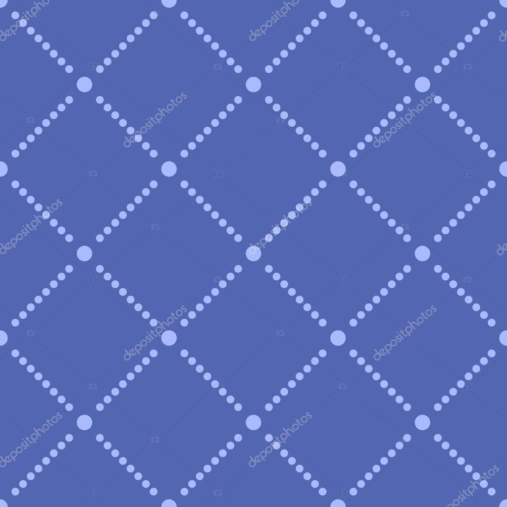 Seamless Square And Dot Pattern Background Stock Vector