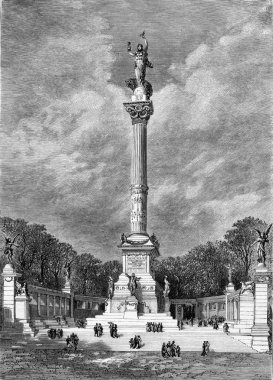 Project column of 5 May 1789, by Messrs. Fornige, architect, and