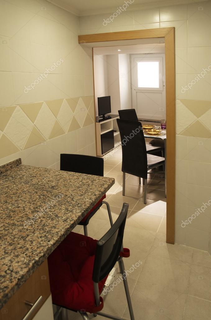 Székek kis konyha és nappali — Stock Fotó © digitalg #80525814