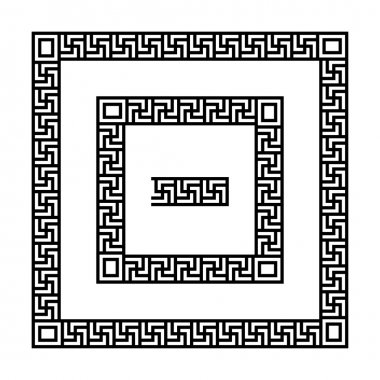 Swastika frames set