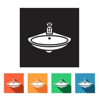 Wash-basin icons