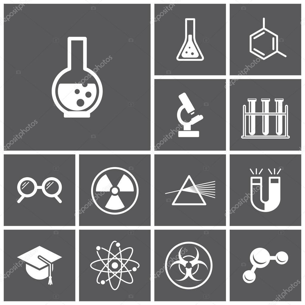 Wissenschaft, Physik-Symbole — Stockvektor © marina_ua #56897793