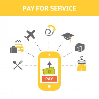 Pay for service concept