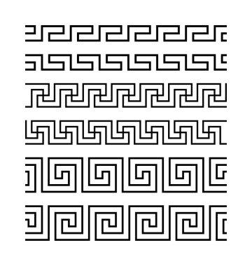 Ancient seamless borders