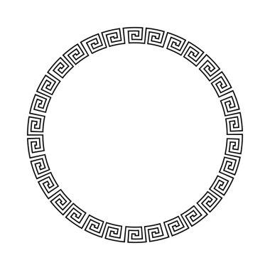 Greek national antique round pattern