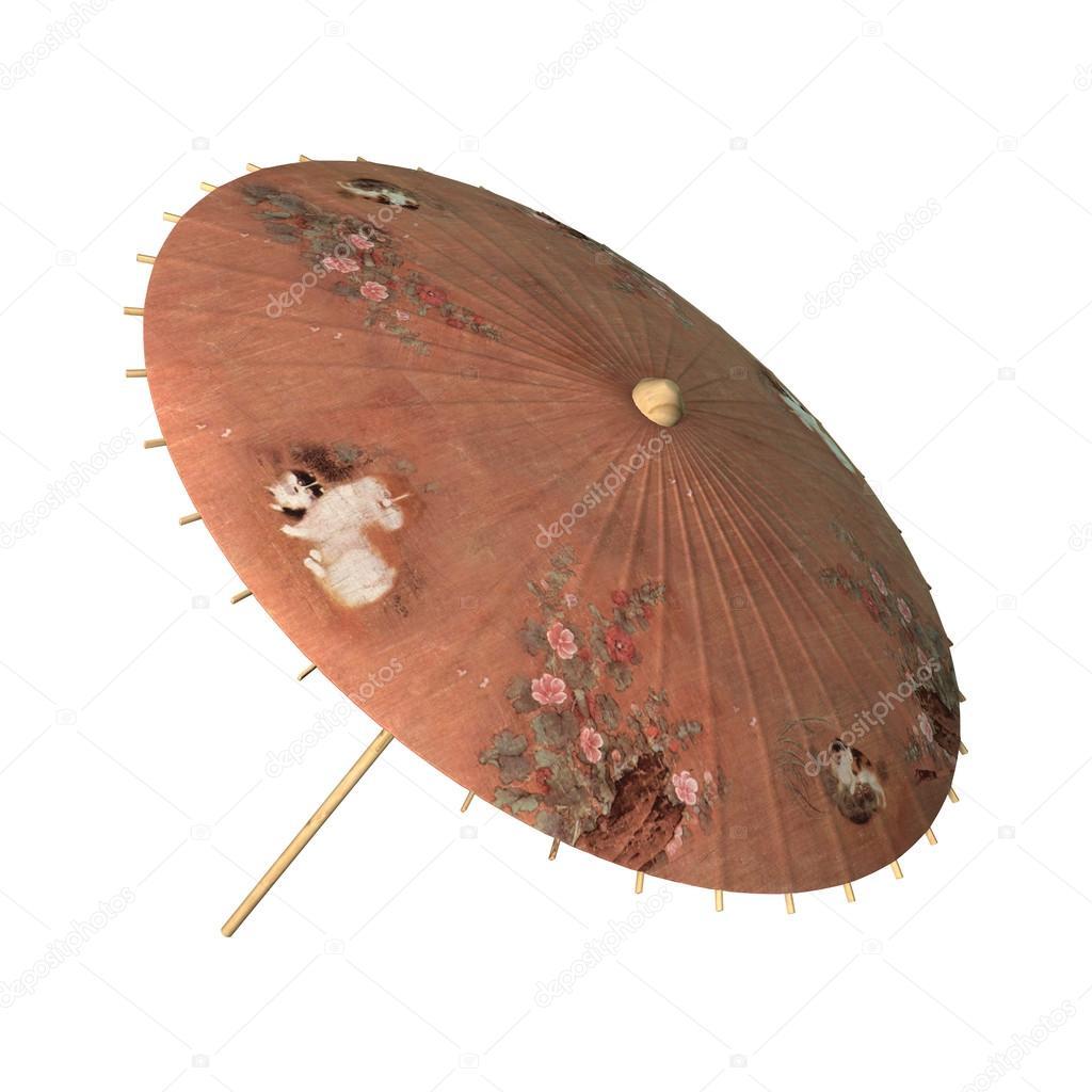 Asiatischer Sonnenschirm asiatischer sonnenschirm retro stockfoto photosvac 90240676