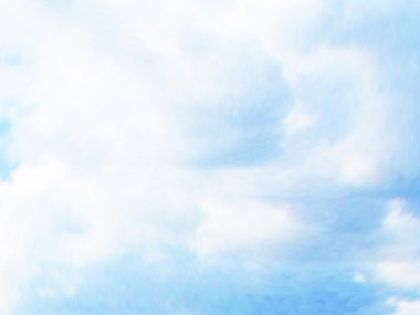 Vector cloudy blue sky